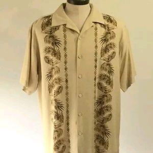 Lot of 4 Caribbean Joe Hawaiian shirts Size large